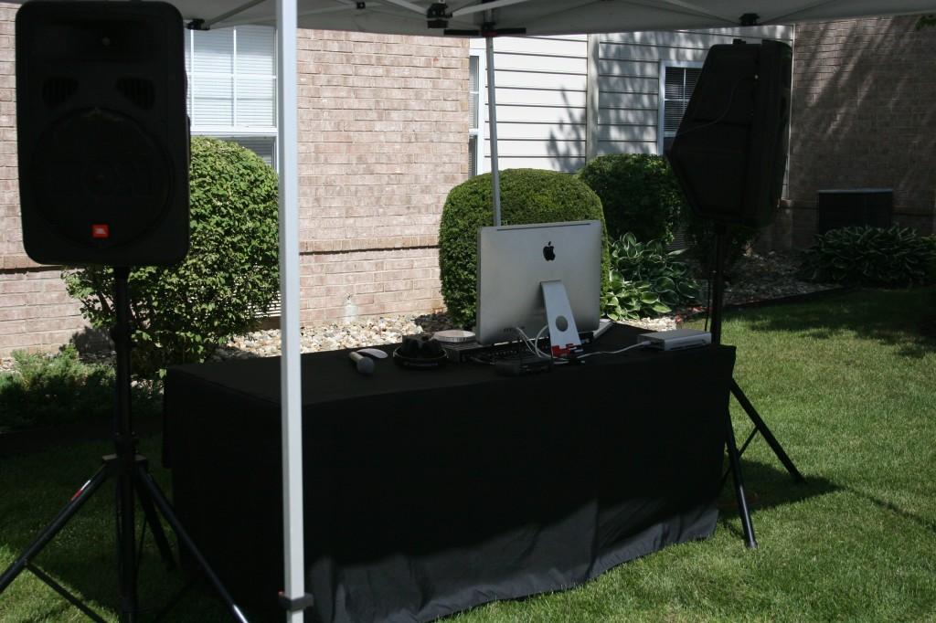 We love outdoor events